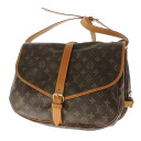 LOUIS VUITTON ソミュール L M42254 shoulder bag monogram canvas Lady's upup7