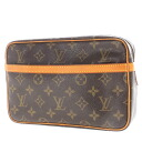 LOUIS VUITTON combiegne 28 M 51845 makeup pouch Monogram Canvas ladies upup7