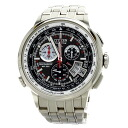 Authentic CITIZEN Chrono Eco Drive time Watch Stainless  Solar Powered Men
