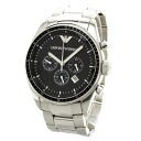 Authentic Emporio Armani AR0585 chronograph Watch Stainless  Kuo - Tsu Men