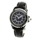 "Authentic CHANEL J12 1.3"" Watch Rubber  Quartz Women"