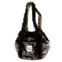 GARCIAMARQUEZ 2way transformation type frill shoulder bag enamel Lady's upup7