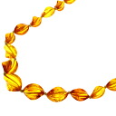 SELECT JEWELRY amber necklace amber Lady's upup7