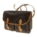 Authentic LOUIS VUITTON  Jibeshieru M42247 Shoulder Bag Monogram canvas