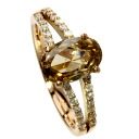 1.659ct Diamond Ring 18K pink gold  3.4g