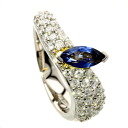 1.14ct Sapphire Ring PlatinumPT900 18K Yellow Gold 10.3g
