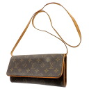 LOUIS VUITTON pochette twin GM M51852 shoulder bag monogram canvas Lady's upup7