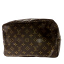 Authentic LOUIS VUITTON  Truth Towaretto M47524 Cosmetics Pouch Monogram canvas