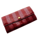LOUIS VUITTON ポルトフォイユ Sarah M91716 long wallet (there is a coin purse) ヴェルニレディース upup7