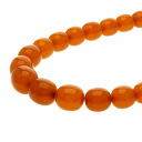 SELECT JEWELRY amber necklace plastic Lady's upup7