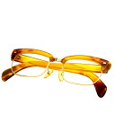 Tortoiseshell Glasses 18K yellow gold  62g