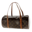 30 LOUIS VUITTON papillon old M51366 porches handbag monogram canvas Lady's upup7 belonging to