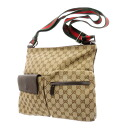 GUCCI GG pattern shoulder bag canvas Lady's upup7