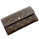 LOUIS VUITTON ポルトフォイユ Sarah M61734 long wallet (there is a coin purse) monogram canvas Lady's upup7