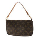 LOUIS VUITTON ポシェットアクセソワール M51980 accessories porch monogram canvas Lady's upup7