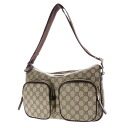 GUCCI waterproofing GG double-pocket family shoulder bag PVC Lady's upup7