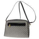 GUCCI GG pattern shoulder bag PVCx leather Lady's upup7