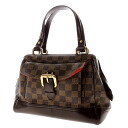 Authentic LOUIS VUITTON  Knightsbridge N51201 Handbag Damier canvas