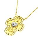 Carrera y Carrera diamond necklace K18 yellow gold Lady's upup7