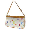 Authentic LOUIS VUITTON  Pochette Accessoires M92649 Accessory pouch Monogram Multicolor canvas