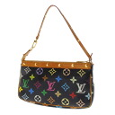 Authentic LOUIS VUITTON  Pochette Accessoires M92648 Accessory pouch Monogram Multicolor canvas