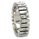 Authentic De Beers  Diamond Ring 18K White Gold