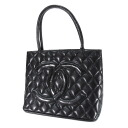Authentic CHANEL  Standard COCO Mark Tote bag Caviar skin