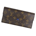 LOUIS VUITTON ポルトフォイユ Emily M60138 long wallet (there is a coin purse) monogram canvas Lady's upup7
