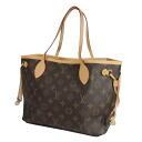 LOUIS VUITTON never full PM M40155 tote bag monogram canvas Lady's upup7