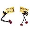 CARTIER dragon earrings K18 yellow gold Lady's upup7