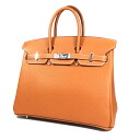 25 HERMES Birkin handbag leather Lady's upup7