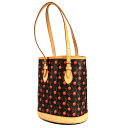 LOUIS VUITTON cherry bucket PM M95012 tote bag monogram canvas Lady's upup7