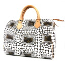 30 LOUIS VUITTON speedy pumpkin dot Yayoi Kusama M40691 handbag monogram canvas Lady's upup7