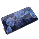 Authentic LOUIS VUITTON  Zippy Wallet M90018 Ikat Flower (With Coin Pocket) Long Wallet Monogram Vernis