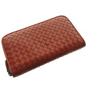 Authentic BOTTEGA VENETA  Intorechato (With Coin Pocket) Long Wallet Lamb
