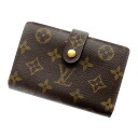Authentic LOUIS VUITTON  Portefeiulle · Vu~ienowa M61663 Bifold Wallet with Coin Pocket Monogram canvas