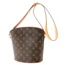 Authentic LOUIS VUITTON  Drouot M51290 Shoulder Bag Monogram canvas