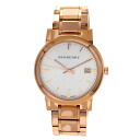 Authentic BURBERRY BU9004 Watch Gold Plated  Quartz Men
