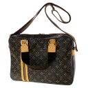 Authentic LOUIS VUITTON  SacBosphore M40043 Shoulder Bag Monogram canvas