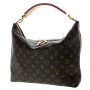 Authentic LOUIS VUITTON  Shri PM M40586 Handbag Monogram canvas