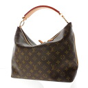 Authentic LOUIS VUITTON  Shri PM M40586 double zipper Handbag Monogram canvas