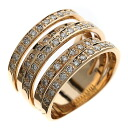 1.05ct Diamond Ring 18K pink gold  9.2