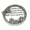 1.5ct Diamond Necklace 18K White Gold  6.4