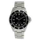 Authentic ROLEX Submariner non-date Chronometer 14060M Watch Stainless  an automatic Men