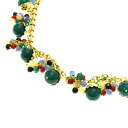 Natural stone Necklace 18K yellow gold  60.5