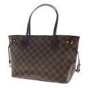 Authentic LOUIS VUITTON  NeverfullPM N51109 Tote Bag Damier canvas