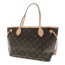 Authentic LOUIS VUITTON  NeverfullPM M40155 Tote Bag Monogram canvas
