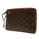 Authentic LOUIS VUITTON  Pochette Sports Second bag Monogram canvas