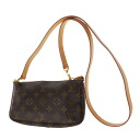 LOUIS VUITTON ポシェットアクセソワール M51980 accessories porch monogram canvas Lady's apap8