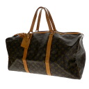 Authentic LOUIS VUITTON  Sac Souple55 M41622 Boston bag Monogram canvas